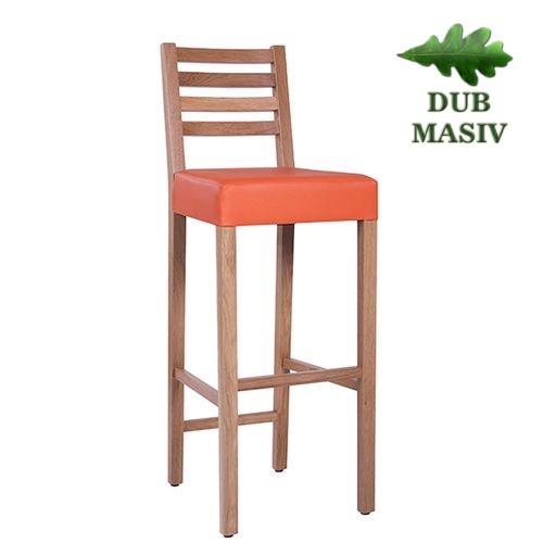 Dřevěné barové židle ARMANDO VPE BAR dub masiv