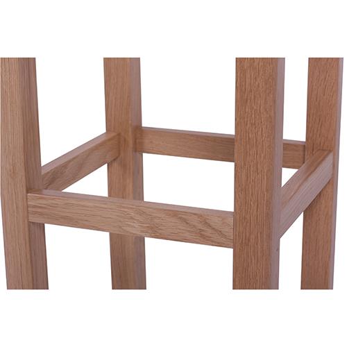 Masívne dubové drevené stoličky