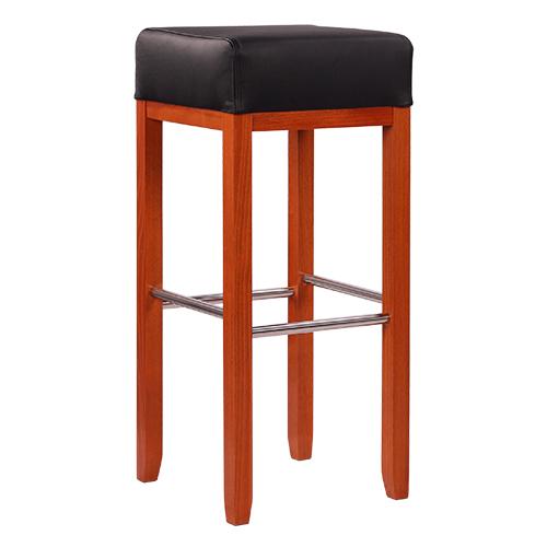 Barové židle s nerezovou trubkou