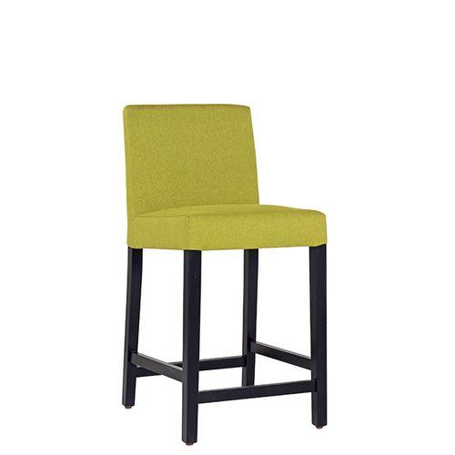 Čalouněná dřevěná barová židle FALCO TH