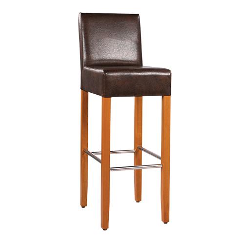 Dřevěná barová židle FAUST IX RL