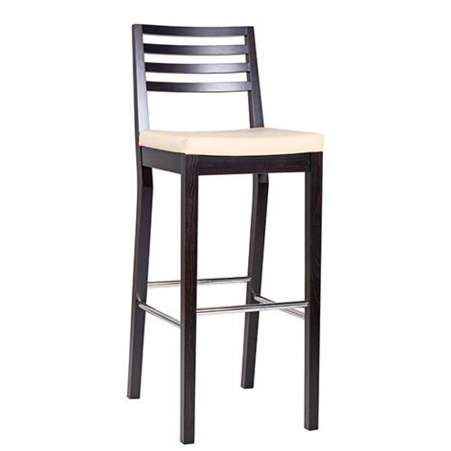 Dřevěná barová židle LUISA P IX