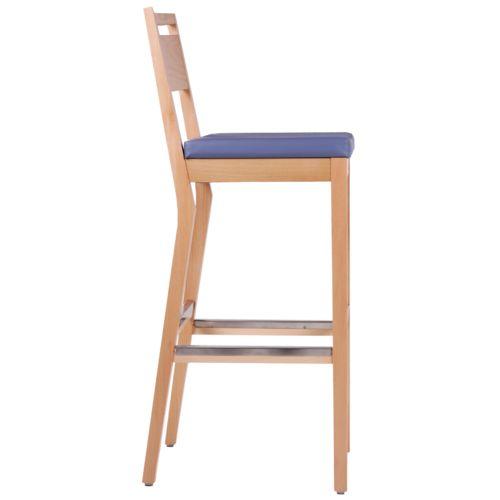 Čalouněné barové židle pro restaurace