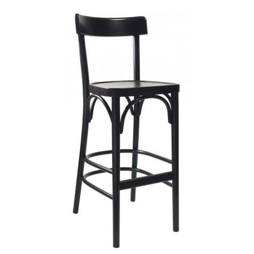Dřevěné ohýbané barové židle CLASSICO B61