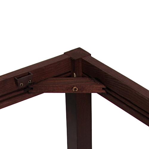 Odolná konstrukce dřevěné stoly