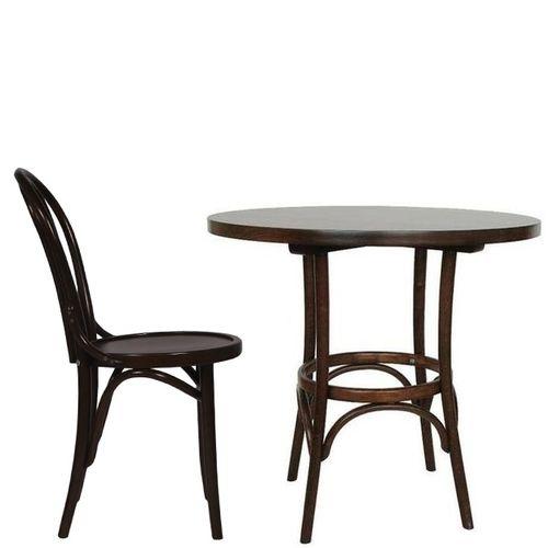 Dřevěný bistro stůl ohýbané dřevo