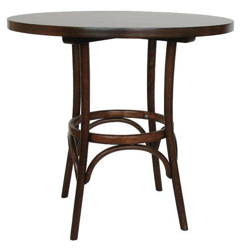 Dřevěné kulaté stoly