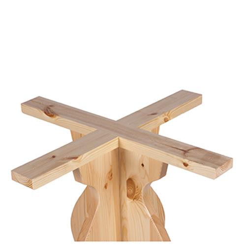 Borovicové stolové podnože