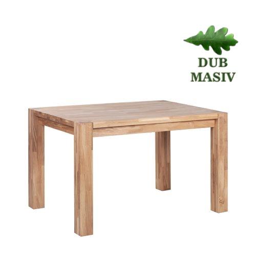 Dřevěné jídelní stoly ARKON 88-128 dub masiv