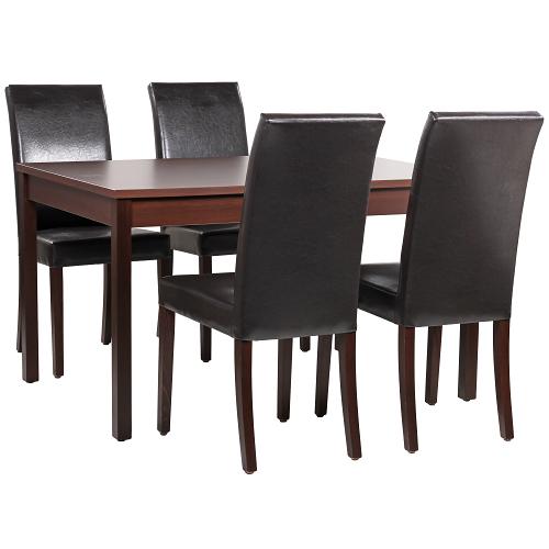 Dřevěné stoly do restaurace a židle