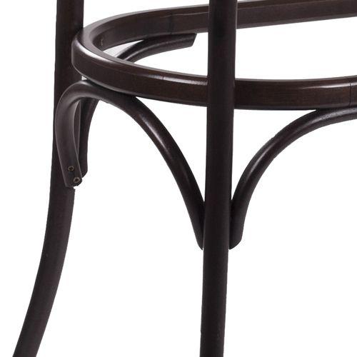 Dřevěné bistro stoly z ohýbaného masivu