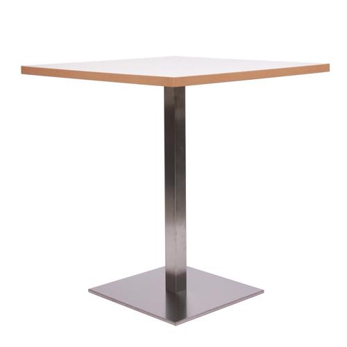 Restaurační kovové stoly na jedné noze