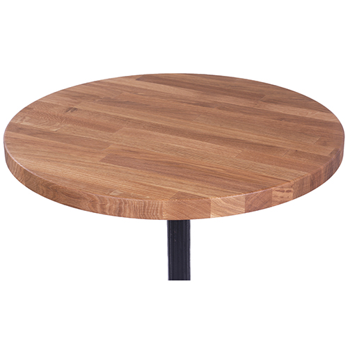 Kulaté desky stolu dub masiv