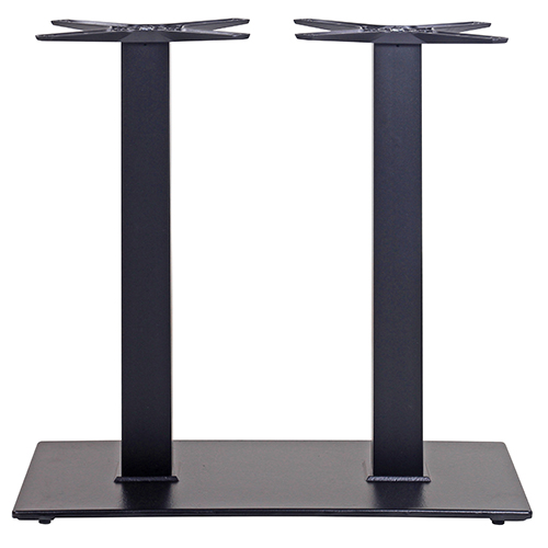 Dvojitá kovová noha ke stolu