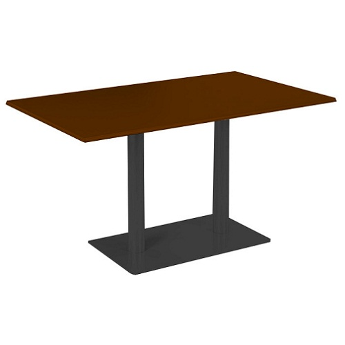 Kovové stolové podnože na centrálních nohách