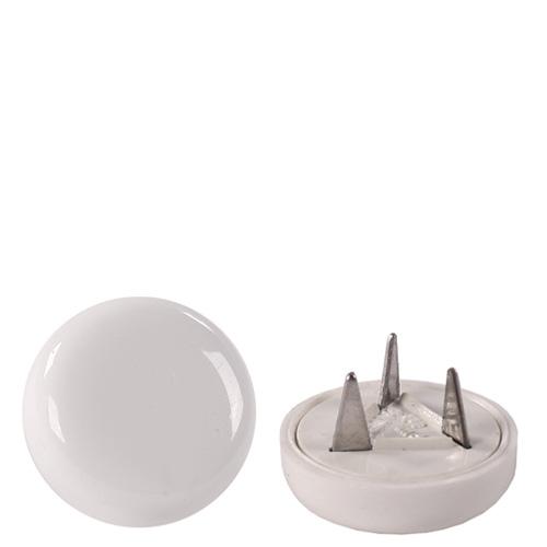 Podlahový kluzák PMR bílý plast (set 4 ks)