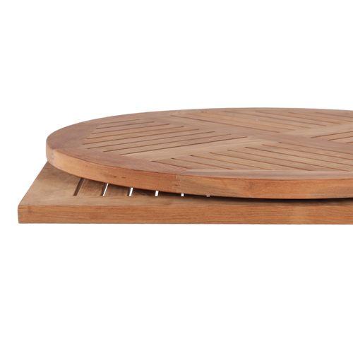 Venkovní stolové pláty TEAK 25 mm