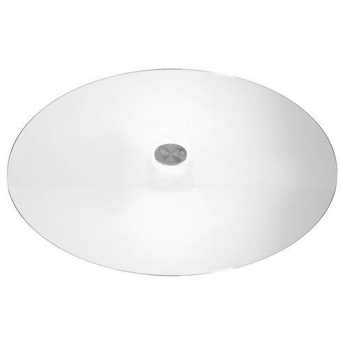 Skleněné stolové desky transparentní povrch