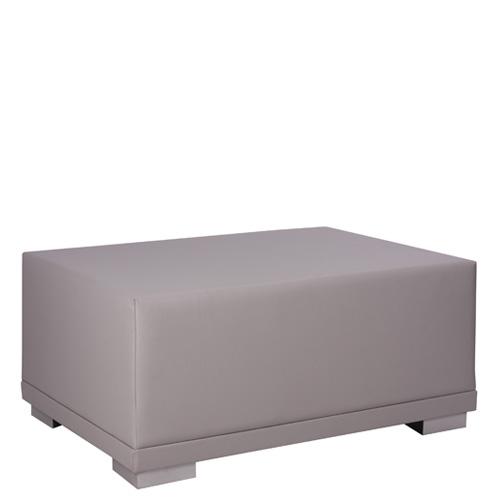 Čalouněný lounge taburet MELANO T