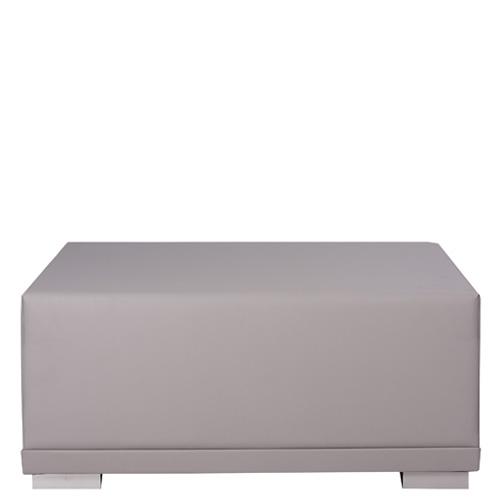 Čalouněný lounge taburet
