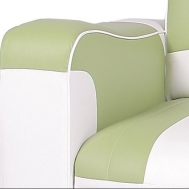 ECO Soft  zelená-bílá