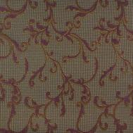 Látka s dekorem PARIS 4001 fialová