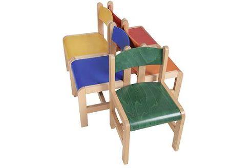743efe73327f Dětské dřevěné židličky D3 různé výšky