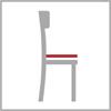 Sedáková hloubka židle