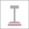Rozměr základny barové židle 1n