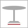 Rozměr základny stolu c.n.k