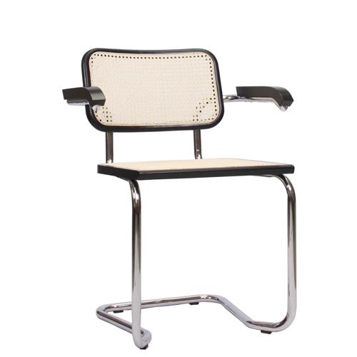 Kovová pohupovací židle