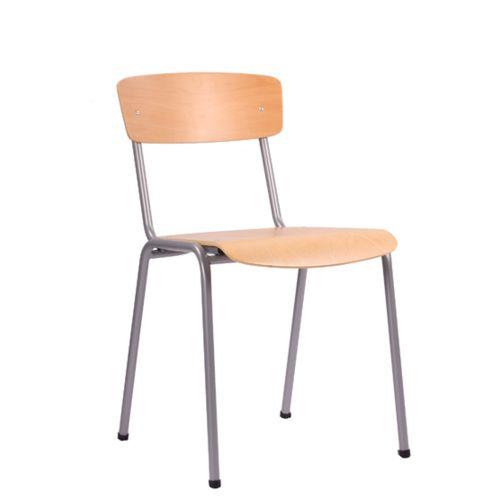Kovová židle FILU stohovatelná