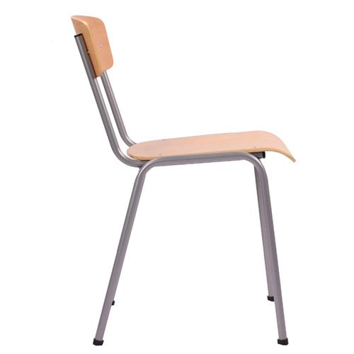 Kovové stohovatelné židle