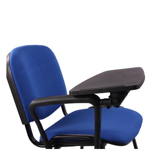 Čalouněné židle s psací posložkou