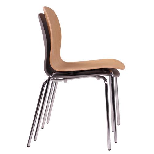 Stohovatelní kovové židle