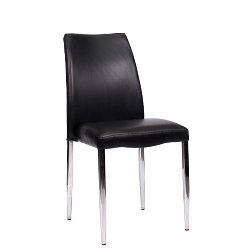 Kovové čalouněné židle