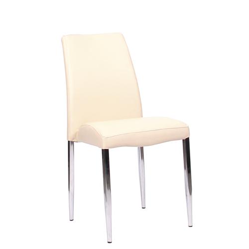 Čalouněné kovové židle pre restaurace