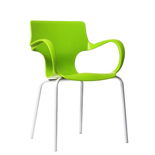 Kovová plastová židle Flores