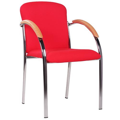 Kovové židle do jednacích místností