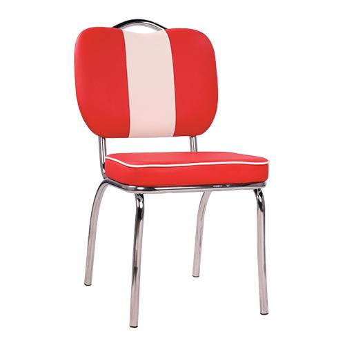 Kovové čalúnené stoličky