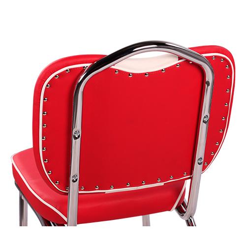 Kovoé čalouněné židle