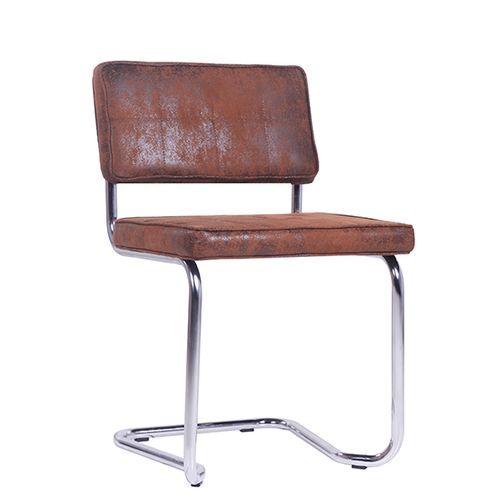 Kovová houpací židle