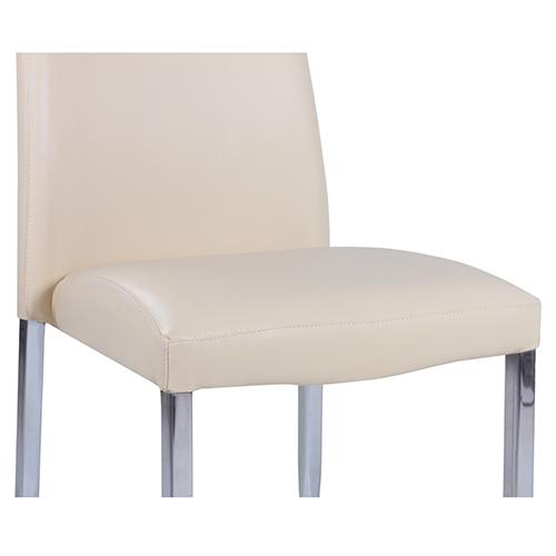 Kovové židle s čalouněním