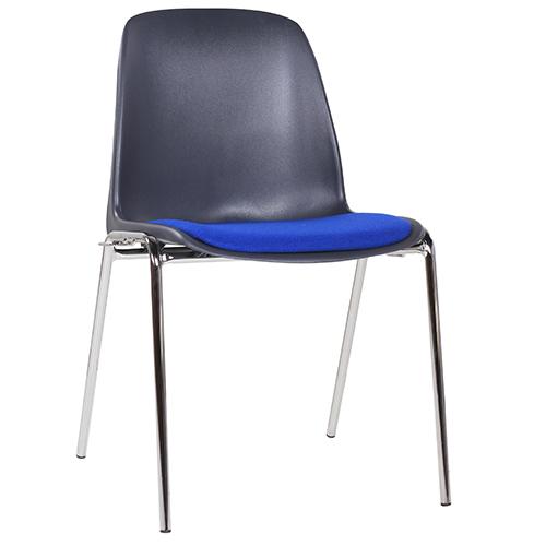 Kovové židle čalouněné