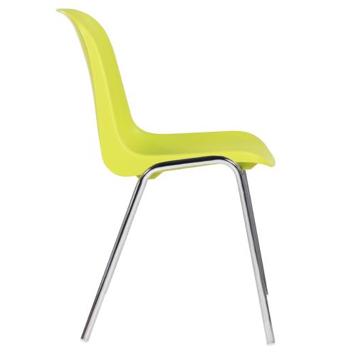 Kovové stoličky s plastovýmsedákom