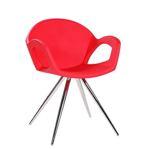 Designové židle PEPPER SPIDER plastové s kovovu konstrukcí