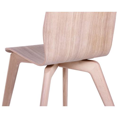 Drevěné bistro stoličky
