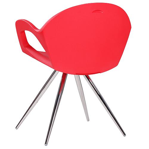 Designová kovová židle