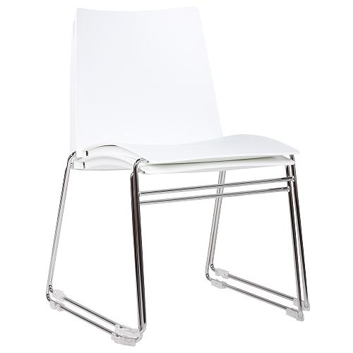 Plastové židle možnost stohování