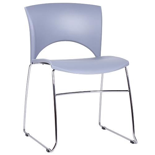 Kovové židle platstový sedák